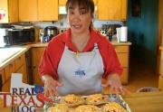 Mexican Torta Sandwich with Cheese - Part 5 - Tomato Mixture Layer and Baking