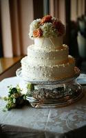 Silvery White Cake