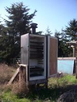 The useful solar food-drying machine