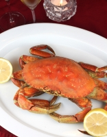 Boiled crabs are healthier