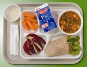 Healthy school food for children