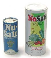 Salt substitutes do not contain sodium