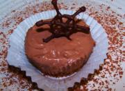 Unbaked Mini Choco Cheese Cakes