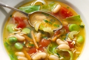 Enjoy eating soups, they are tasty and healthy