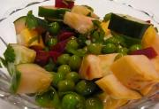 Healthy Summer Green Pea Salad