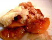Fresh Apricot Cobbler