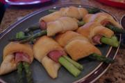 Ham Asparagus Rolls