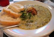 Enjoy eating oysters rockefeller soups