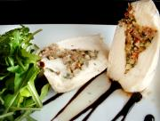 Steamed Stuffed Breast of Chicken