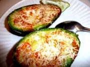 Baked Avocado with Crab