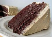 Mocha Brownie Cake