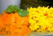 Basmati Rice with Low Fat Chicken Tikka Masala