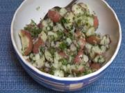 Healthy Red Potato Salad - Vegan