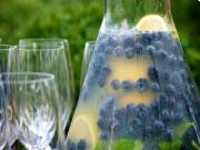 Blueberry Lemonade with Fresh Mint