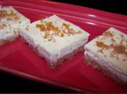 Orange Marmalade Cheesecake Bars