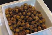 Spicy Roasted Chickpea Snack
