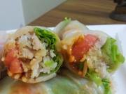 Chicken Rice Vietnamese Spring Roll