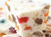White Fruity Christmas Slice