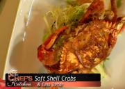 Pan Fried Crabs and Tuna Tartar