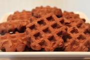 Waffle Iron Brownies