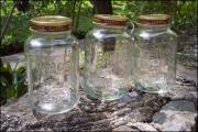keep jars in sun to remove odor and moisture
