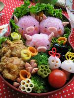 Use Bento Lunches To Make Fussy Eaters Finish Food