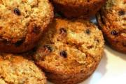 Oat Bran Raisin Muffins