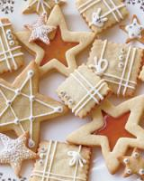 An array of delicate holiday cookies