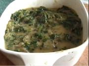Creamy Spinach without Cream