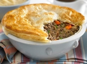 Vegetable Beef Pies