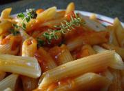 Mostaccioli with Tomato Pesto