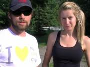 Outdoor Couples Workout