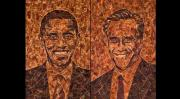 Obama and Romney get a meaty avatar.