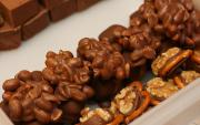 Chocolate Walnut Clusters