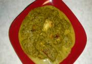 Hariyali Paneer(Cottage Cheese in Green Gravy)