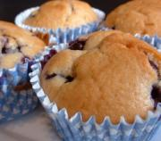 Healthy Snakcs For School Parties - Blueberry Muffins