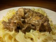 Cooked-Beef Stroganoff
