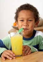 Kids' drinks should be healthy.