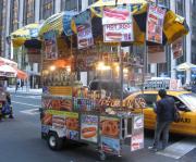 Food cart tour of Midtown