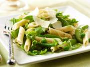 Lemony Spring Peas & Pasta Salad