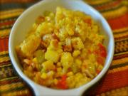 Luby's Spanish Indian Baked Corn