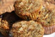 Double Cheese Bran Muffins
