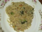 Simple Homemade Semiya Upma