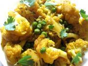 Cauliflower Peas Shaak - Sabji - Gobi Matar Sabji