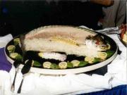 Poached Whole Salmon