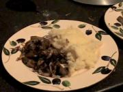 Zuza zak's Weeknight Dinners: Liver, Onion with Mashed Potato