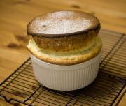 Crunchy Vanilla Souffle