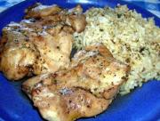 Baked Chicken Dinner