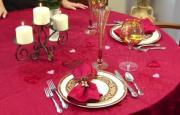 Setting a Romantic Table