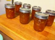 Pineapple and Peach Jam